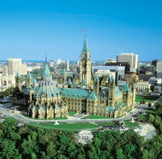 Ottawa, Ontario, Canada (Canada's Capital City) Rear of the Parliament Buildings on Parliament Hill Ottawa Canada, Ottawa Ontario, Canada Eh, Ottawa City, Ottawa River, Toronto, Torre Cn, Ottawa Parliament, Places To Travel