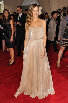 Sarah Jessica Parker attends the Costume Institute Gala Benefit