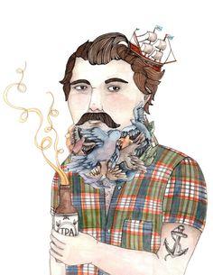 Flock of Beards - Brooke Weeber