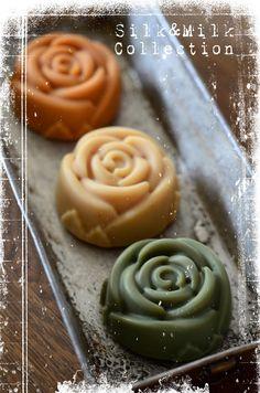bbee's soap site: Silk & Milk Soap Collection Part II