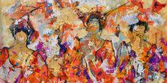 180x90cm door Dario Bosa - Te huur/te koop via Abrahamart.com  #art #painting #kunst #kunstuitleen #DarioBosa #abrahamart #bramreijnders #Eindhoven