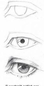 New Ideas Eye Drawing Tutorial Manga Character Design References Drawing Faces For Beginners, Eye Drawing Tutorials, Drawing Techniques, Drawing Lessons, Art Tutorials, Drawing Ideas, Step By Step Sketches, Sketches Tutorial, Step By Step Drawing