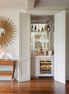 I am officially making a liquor cabinet closet downstairs. Somehow, somewhere. I have to find space!