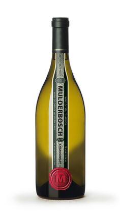 Mulderbosch Vineyards by Craig Keown, via Behance wine / vino mxm Wine Vineyards, Print Finishes, Beverage Packaging, Wine Labels, Wine And Spirits, Wineries, Bottle Design, White Wine, Packaging Design