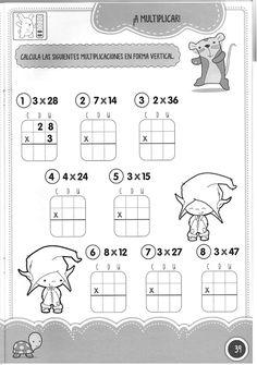 Foto: Preschool Math, Teaching Math, 2nd Grade Math Worksheets, Math Multiplication, Maths, Second Grade, Archive, Album, Ideas Para
