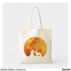 Shop Border Collie Tote Bag created by DogSpeed. Collie Dog, Border Collie, Dogs For Sale, Budget Fashion, Holiday Photos, Custom Clothes, Dog Breeds, Dog Lovers, Tote Bag