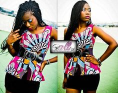 African print top By Doll'S +225 65 10 01 78