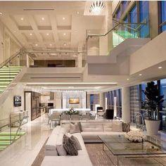 Modern home design – Home Decor Interior Designs House Inspo, House Rooms, Home Interior Design, House Design, Mansion Interior, Luxury Living Room, Luxury Houses Kitchen, House Designs Exterior, Luxury House Designs