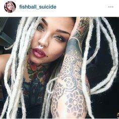 Future me! @fishball_suicide #ink #inky #inked #instagood #dreads #dreadhead…