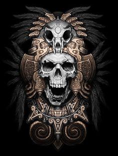 Teskatlipoka on Behance   tatuajes | Spanish tatuajes  |tatuajes para mujeres | tatuajes para hombres  | diseños de tatuajes http://amzn.to/28PQlav