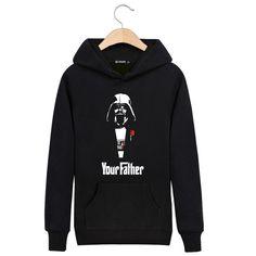 Your Father in Star Wars Sweatshirts Men Brand Hoodies Men 2016 Spring Male…