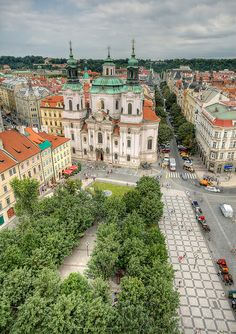 St Nicholas Church, Old Town Square, Prague, Czech Republic