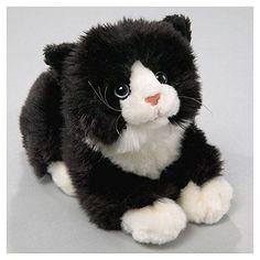 Black And White Stuffed Cat