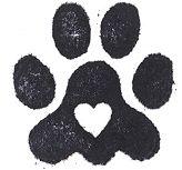 Dog Paw Print Stamps...