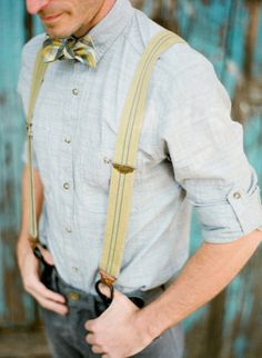 bow ties and suspenders..sigh