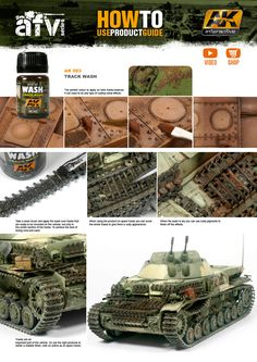 Buy track wash online for just AK Interactive acrylic paints, brushes for modelling, pigments, oils and filters for scale modeling. Modeling Techniques, Modeling Tips, White Spirit, Weather Models, Paint Charts, Best Scale, Weather Tracking, Model Tanks, Military Modelling