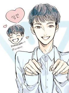 #dk #seokmin #dokyum #디케이 #석민 #도켬  #세븐틴 #seventeen #k-pop #fanart