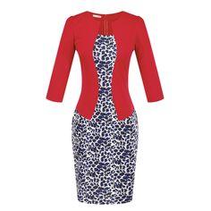 New Fashion Women Faux Two Piece Dress Elegant Plaid Long Sleeve Pencil Dresses Office Wear Women Work Outfits With Belt