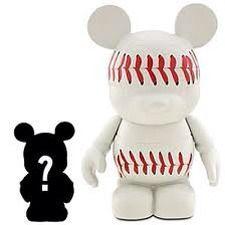 "Disney Vinylmation 3"" Sports Series Baseball + 1.5 Junior - NEW HTF RARE"