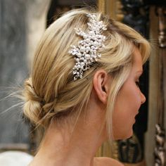 Ivory and Co Catalina Comb - Bridal Jewellery - Crystal Bridal Accessories