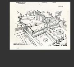 Alphabet of Illustrators, J.J.Joass, Formal Gardens in Scotland from The Studio c1896