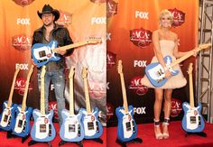My two favorite country singers- Jason and Carrie