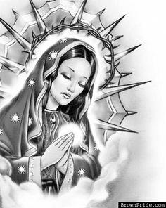 La Virgen...my next tattoo!!
