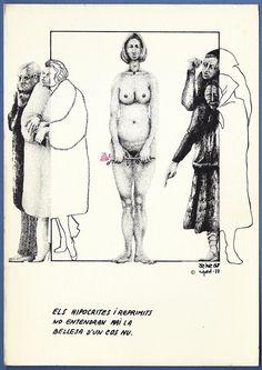 """231 """"Los hipócritas y reprimidos no entenderán nunca la belleza de un cuerpo desnudo""""."""