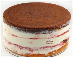 How to Fill Layer Cakes - Tutorial - In commercial bakeries, we have a way of building layered cakes so that they come out in perfect cylinders, squares, rectangles, et.