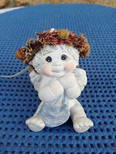 Dreamsicles Snuggle Blanket Cherub Angel Figurine DC082 1995