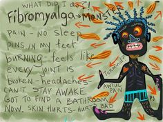 I often wonder if suffering with Fibro is some kind of evil karma!?!