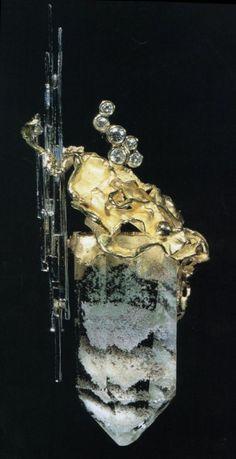 Jean Vendôme - Gold, crystals, diamonds .Or, cristaux , diamants