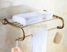 Bildresultat för bathroom brass towel dryer