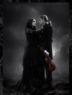 gothic art pictures | Gothic Love II by =Denys-Roque on deviantART
