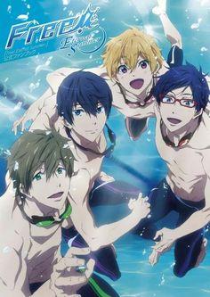 Image about anime in Free! � by ジーナ �ゃん ~ on We Heart It Vocaloid, Rei Free, Rin Matsuoka, Haruka Nanase, Amaama To Inazuma, Swimming Anime, Super Anime, Splash Free, Free Eternal Summer