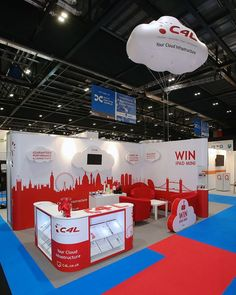 Prestige Exhibition Stand for Connexions4London (C4L) at Cloud Expo Europe 2014: