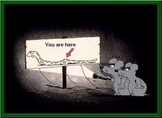 Foto Divertente: Topolini dentro la pancia del serpente