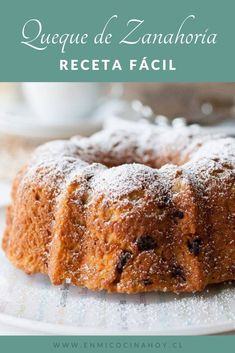 Pan Dulce, Cake Mix Cookies, Easy Bread, Afternoon Snacks, Carrot Cake, Cake Recipes, Deserts, Food And Drink, Yummy Food