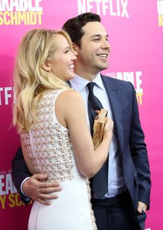 Pin for Later: Anna Camp and Skylar Astin Are Like a Couple at Prom on the Red Carpet