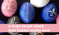 Five super-cute ways to get stuck into Easter crafts! -- Kidspot #easter #craft #kids
