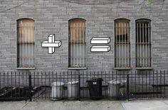 窓の数を使ってアートを楽しむ「one plus one equals window」