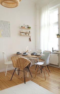 Bereit für Lasagne und Mousse au chocolat   SoLebIch.de Foto: Pixi87 #solebich #wohnen #wohnideen #interior #inspiration #interiorideas #deko #dekoration #dekoideen #einrichten #einrichtungsideen #string #pocket #regal #hängeregal #scandi #skandi #scandistyle #scandinavian #weiß #holz #esszimmer #diningroom