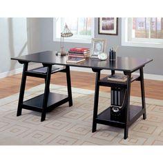 Coaster Soho Trestle Desk - 800361