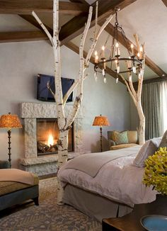 Creative,chic and stunning Bedroom Interior Design Ideas  #bedroom #bedroomdesign #bedroominteriordesign #interiordesign #decor #bedroomdecor