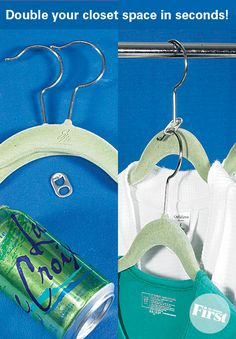 Genius Way to Organize Clothes | First for Women I never would have thought of this!