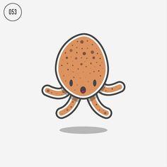 Boiled Egg Jollyfish is afraid of spoons  #jollyfish #jolly_fish #jellyfish #dailyfish #jellyfishaday #icon #iconaday #flatdesign #dribbble #behance #illustrator #photoshop #vector #vectorart #logoplace #logo #cute #cool #art #drawing #artwork #posterdesign #tshirtdesign #stickerdesign #flat #vectorartwork @graphicdesigncentral @illustee #egg #boiledegg by sebcornelius
