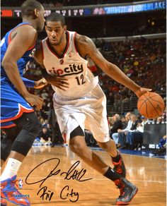 "LaMarcus Aldridge Portland Trail Blazers Autographed 8"" x 10"" Rip City Drive Photograph with Rip City Inscription"