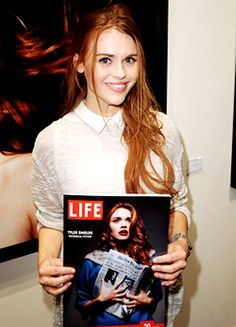 Holland Roden attends the preview of Tyler Shields HISTORICAL FICTION - 05/16/15