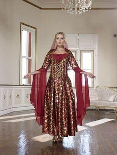 kına-için-bindallılar (6) The Dress, Dresses With Sleeves, Long Sleeve, Fashion, Gowns With Sleeves, Moda, Sleeve Dresses, Long Dress Patterns, Dresses