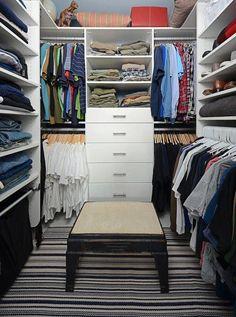 Closets para ninguém colocar defeito!